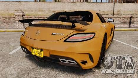 Mercedes-Benz SLS 2014 AMG Performance Studio for GTA 4 back left view