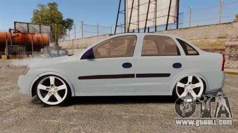 Chevrolet Corsa Premium Sedan for GTA 4 left view
