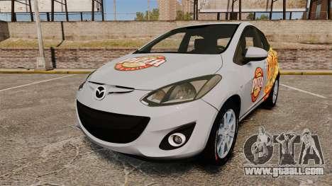 Mazda 2 Pizza Delivery 2011 for GTA 4