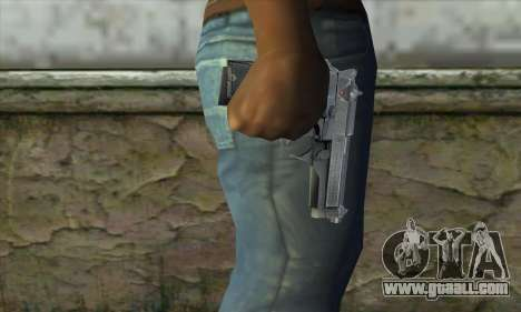 The gun from Stalker for GTA San Andreas third screenshot