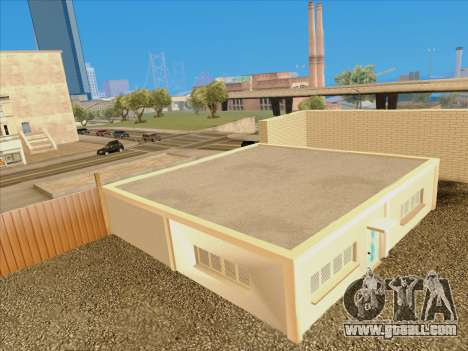 Updated textures school of driving for GTA San Andreas forth screenshot