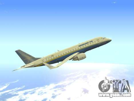 Embraer 175 HOUSE for GTA San Andreas inner view