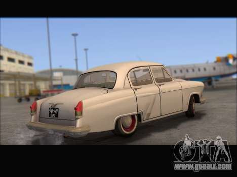 GAZ 21 for GTA San Andreas right view