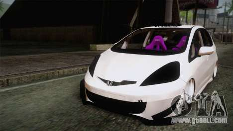 Honda Jazz RS Street Edition for GTA San Andreas