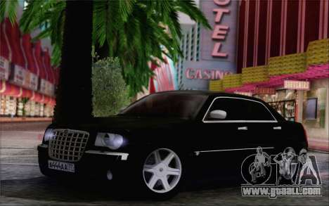 Chrysler 300C 2009 for GTA San Andreas