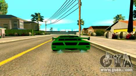 New Turismo for GTA San Andreas back left view