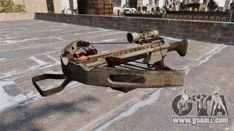 Crossbow for GTA 4 third screenshot