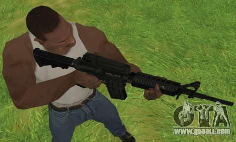 M4A1 for GTA San Andreas fifth screenshot