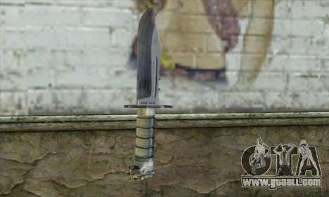 The knife from Stalker for GTA San Andreas