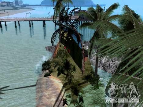 New island v1.0 for GTA San Andreas fifth screenshot