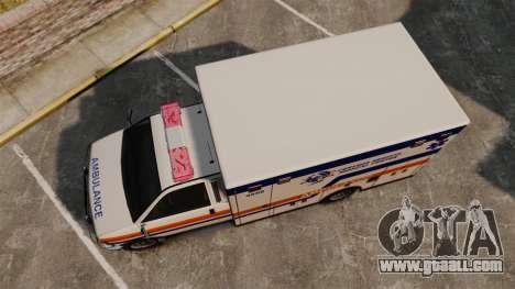 Brute CHMC Ambulance for GTA 4 right view