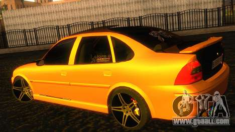 Opel Vectra B TUNING for GTA San Andreas back left view