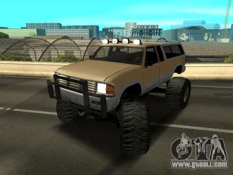 New Monster for GTA San Andreas