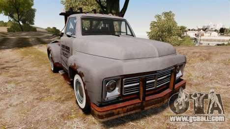GTA IV TLAD Vapid Tow Truck for GTA 4