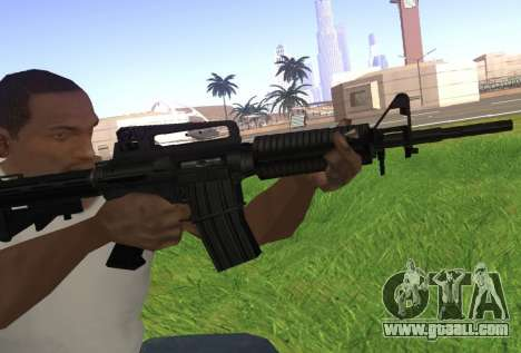 M4A1 for GTA San Andreas second screenshot