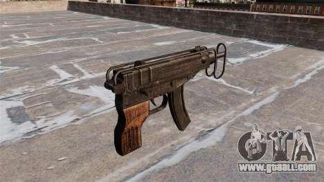 SMG Skorpion vz. 61 for GTA 4 second screenshot