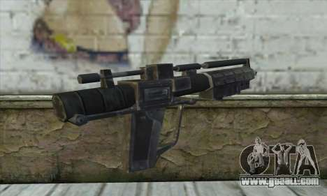 The rifle from Star Wars for GTA San Andreas second screenshot