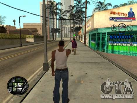 The new C-HUD Ghetto for GTA San Andreas fifth screenshot