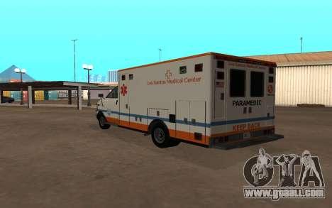 GTA 5 Ambulance for GTA San Andreas right view