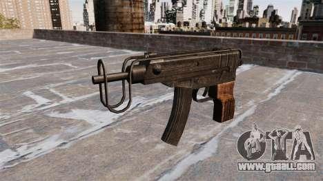 SMG Skorpion vz. 61 for GTA 4 third screenshot
