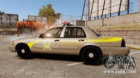 Ford Crown Victoria NLSP [ELS] for GTA 4 left view