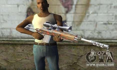 Sniper Rifle for GTA San Andreas third screenshot