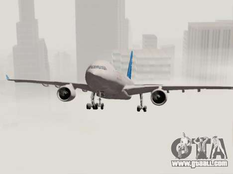 A330-202 China Eastern for GTA San Andreas side view