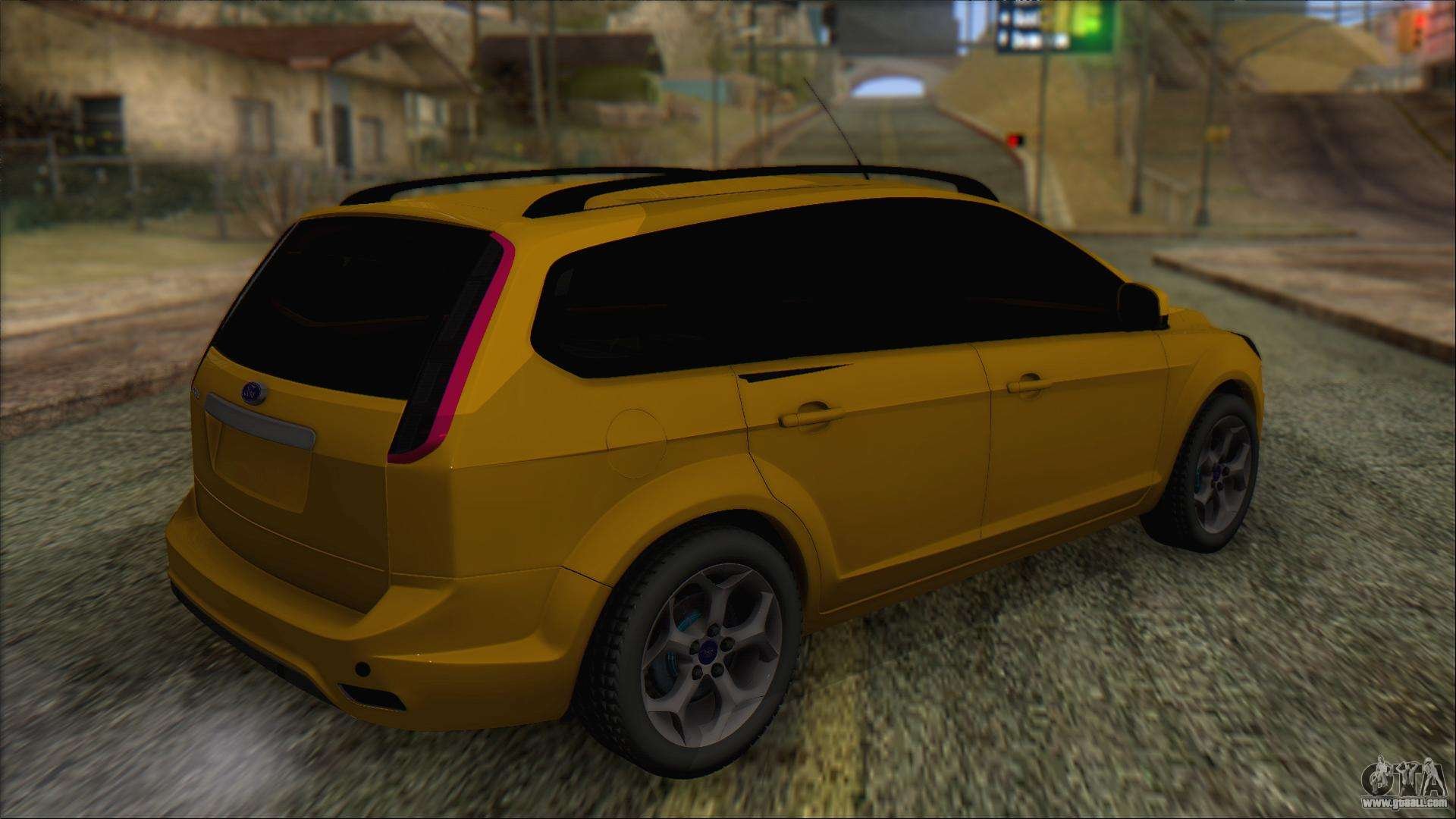 Ford Focus 2008 Station Wagon Stock For Gta San Andreas