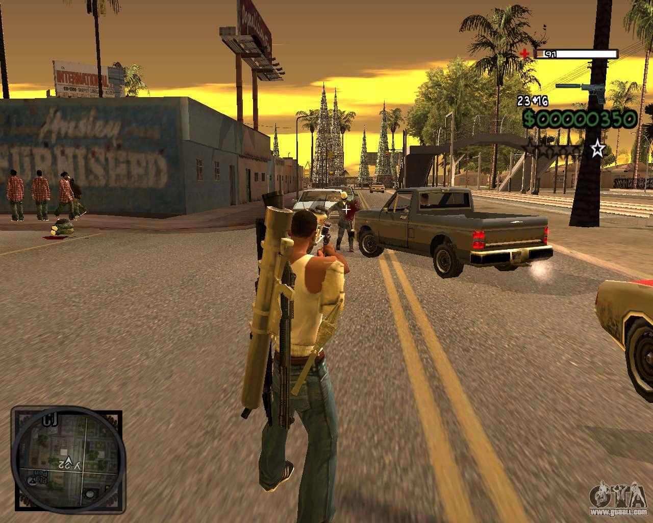 C-HUD Lite v2 0 for GTA San Andreas