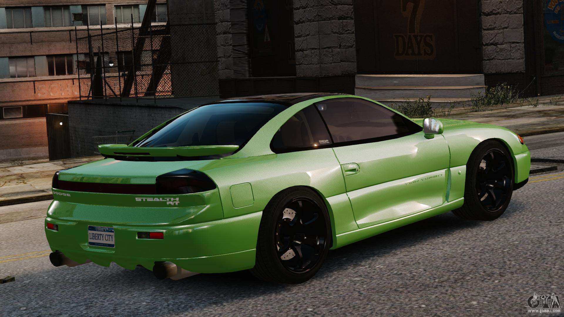 Dodge Charger Mods >> Dodge Stealth Turbo RT 1996 for GTA 4