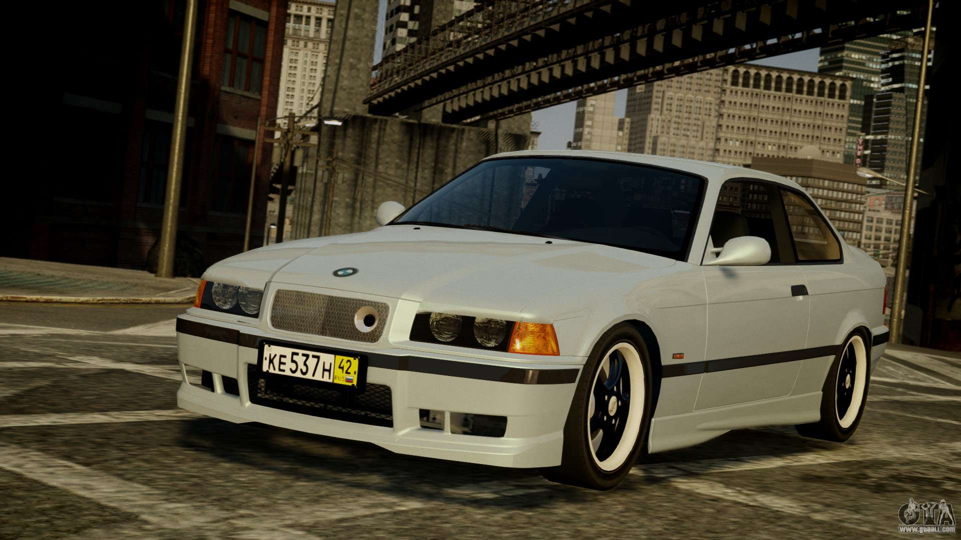 Bmw M3 E36 328i For Gta 4