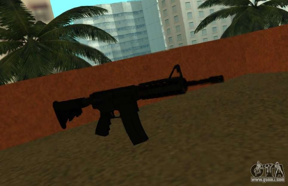 M4 Cqb For Gta San Andreas