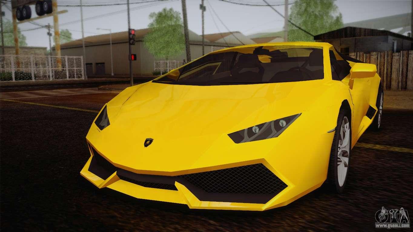 GTA 5 Lamborghini
