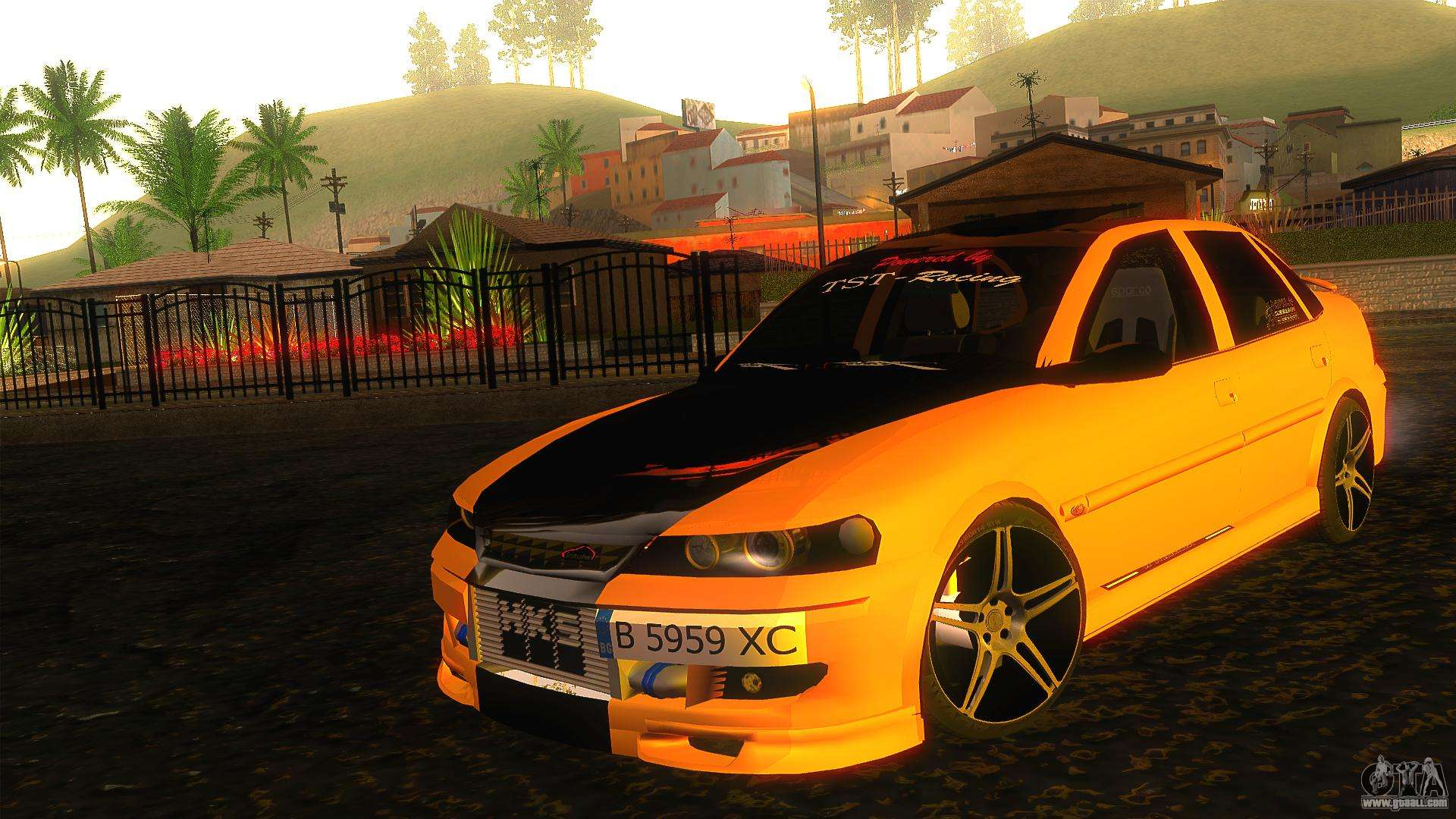 opel vectra b tuning for gta san andreas. Black Bedroom Furniture Sets. Home Design Ideas