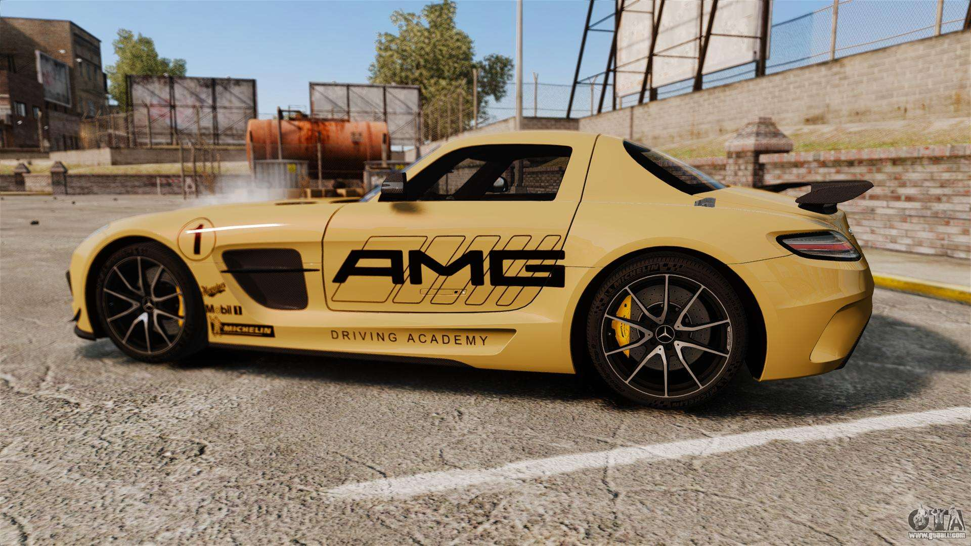 Mercedes benz sls 2014 amg driving academy v2 0 for gta 4 for Mercedes benz academy