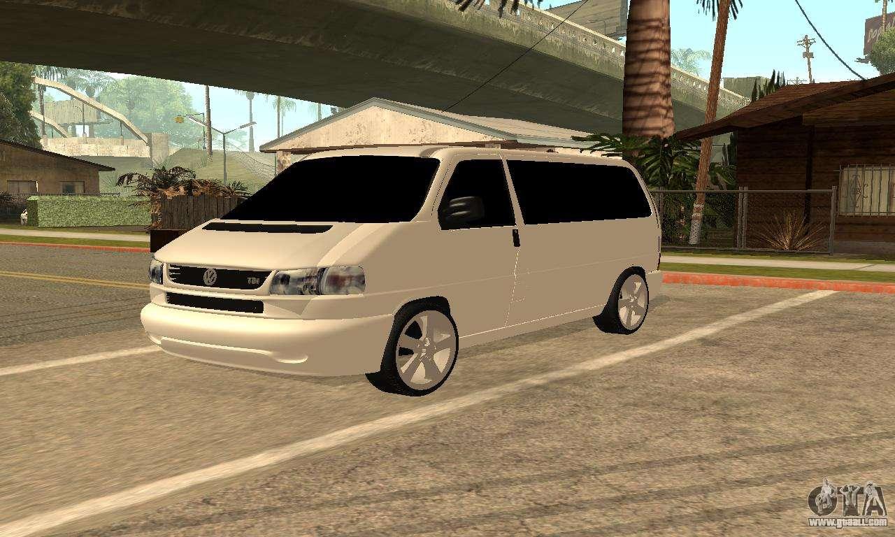 volkswagen t4 transporter for gta san andreas. Black Bedroom Furniture Sets. Home Design Ideas