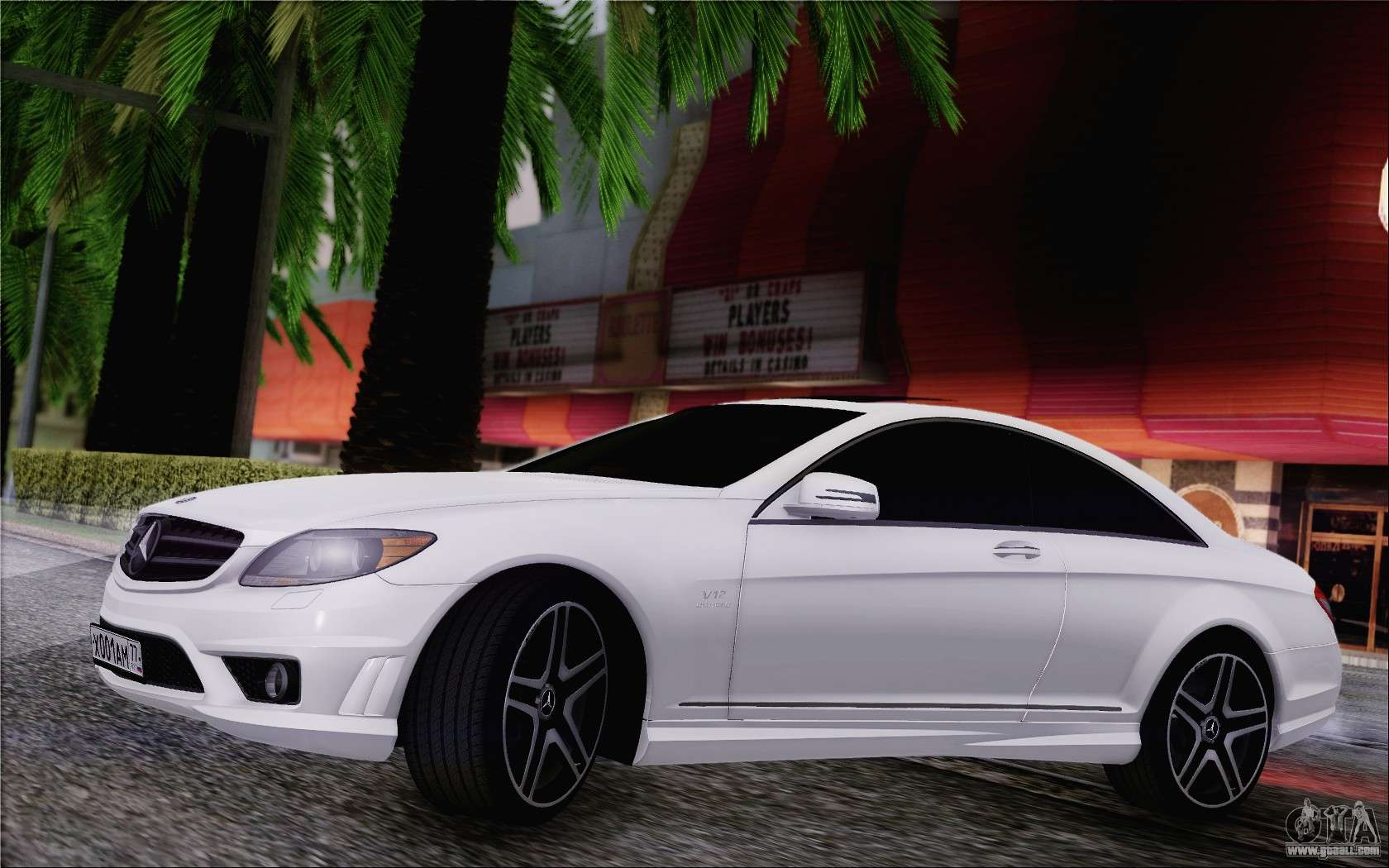 Mercedes Benz Cl65 Amg For Gta San Andreas