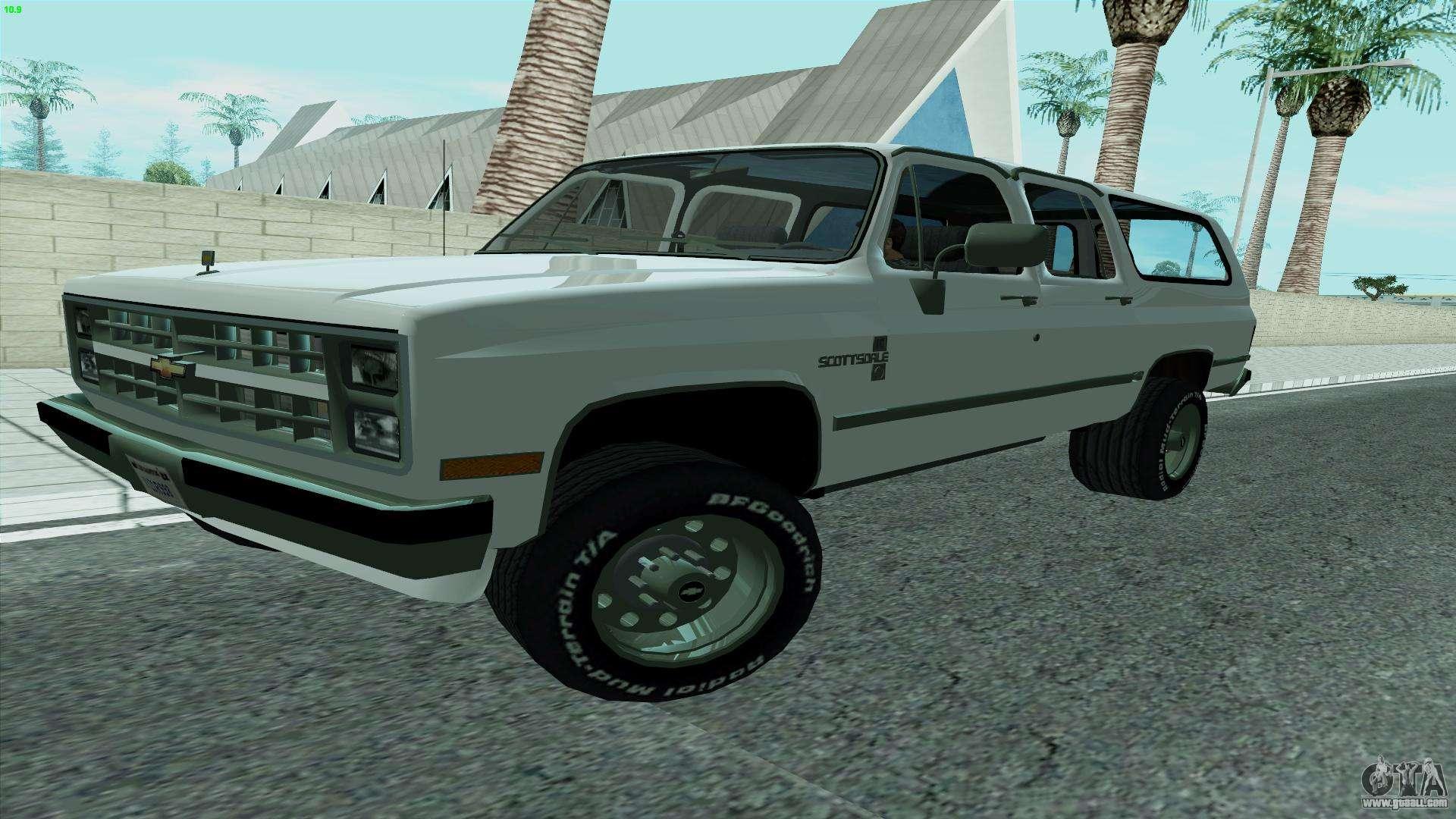 Chevrolet Suburban 2500 1986 For Gta San Andreas
