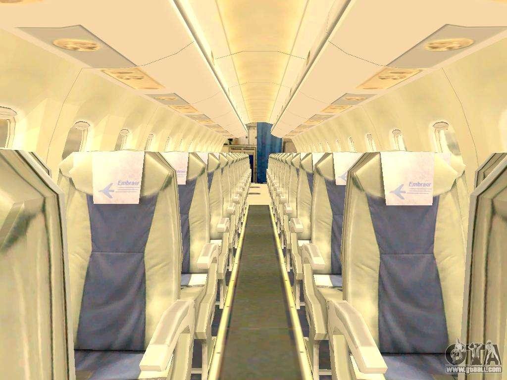 Embraer 175 house for gta san andreas for Gta sa plane interior mod