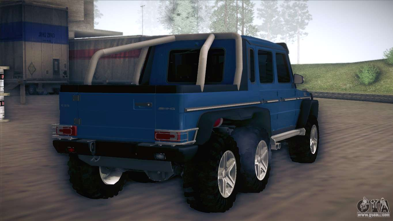 Mercedes benz g63 amg 6x6 for gta san andreas for Mercedes benz g63 amg 6x6 price