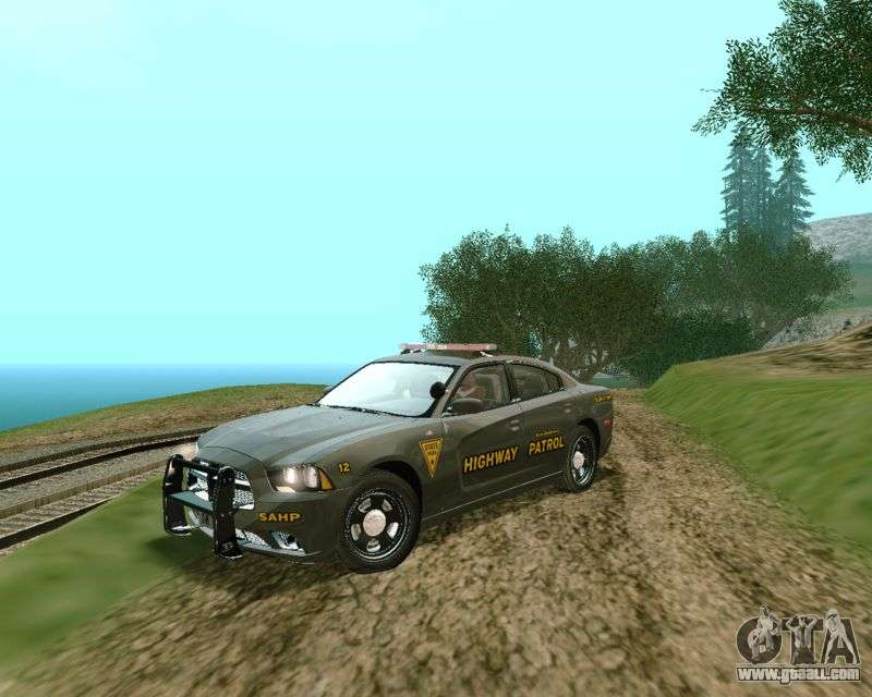 Dodge Charger 2012 Sahp For Gta San Andreas