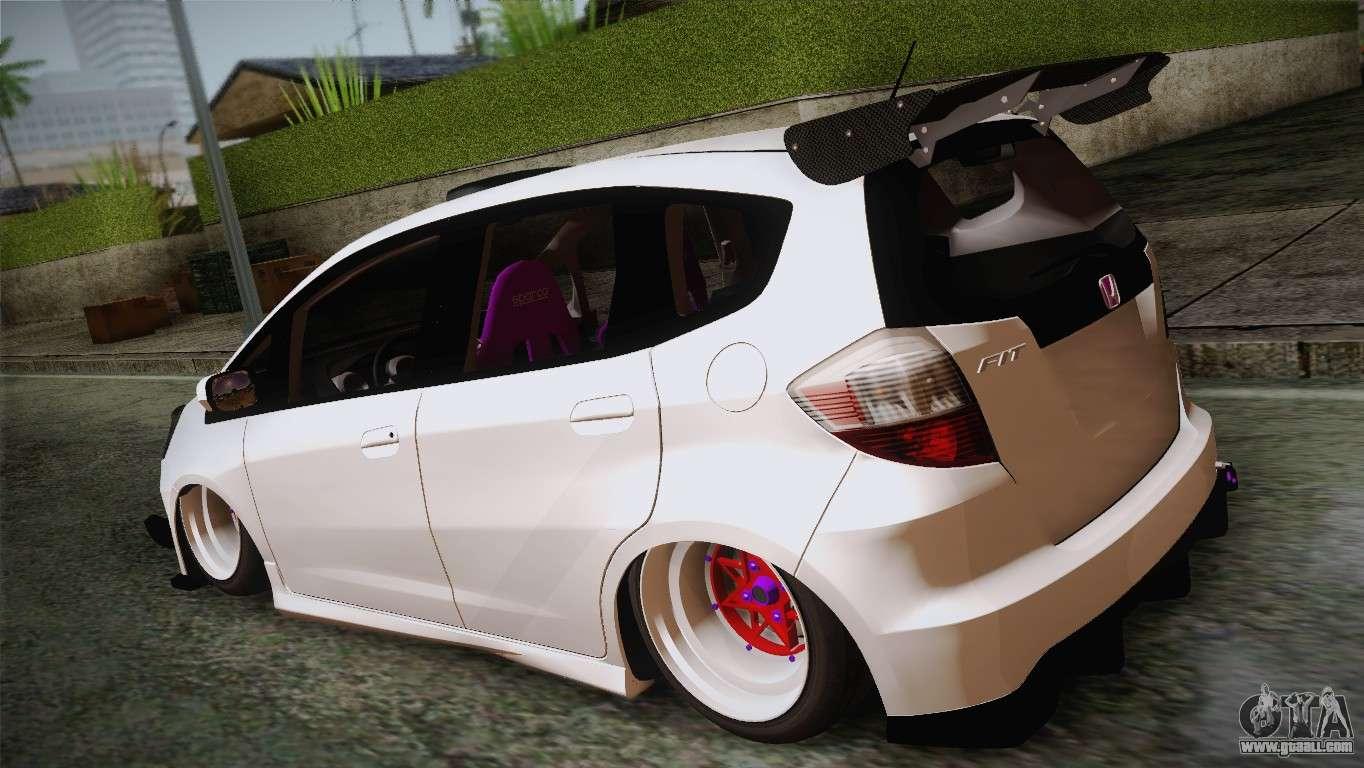 Honda Jazz Rs Street Edition For Gta San Andreas