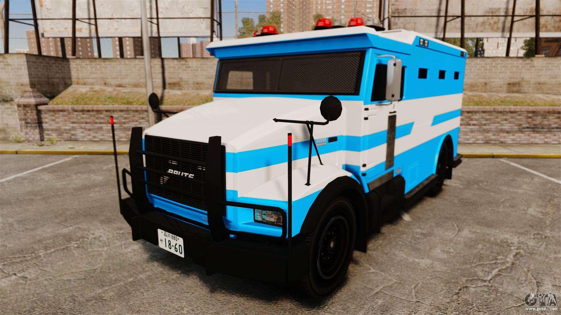 Enforcer Japanese Police ELS for GTA 4