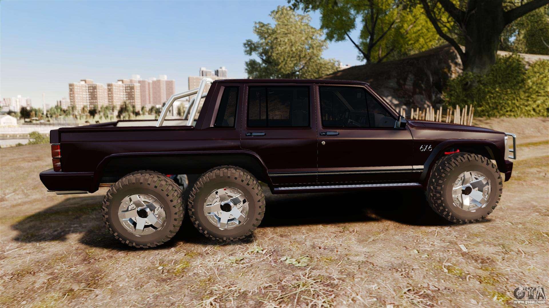 Mercedes Benz Minivan >> Jeep Carver 6X6 for GTA 4