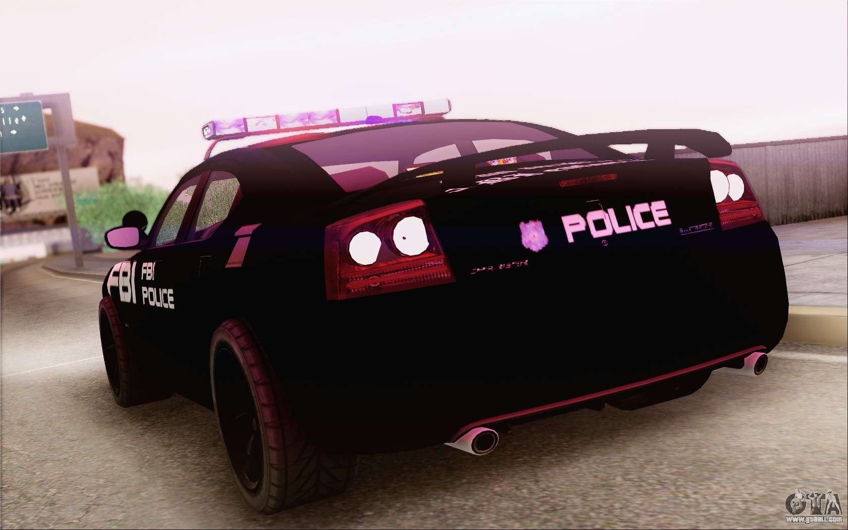 Dodge Charger SRT8 FBI Police For GTA San Andreas