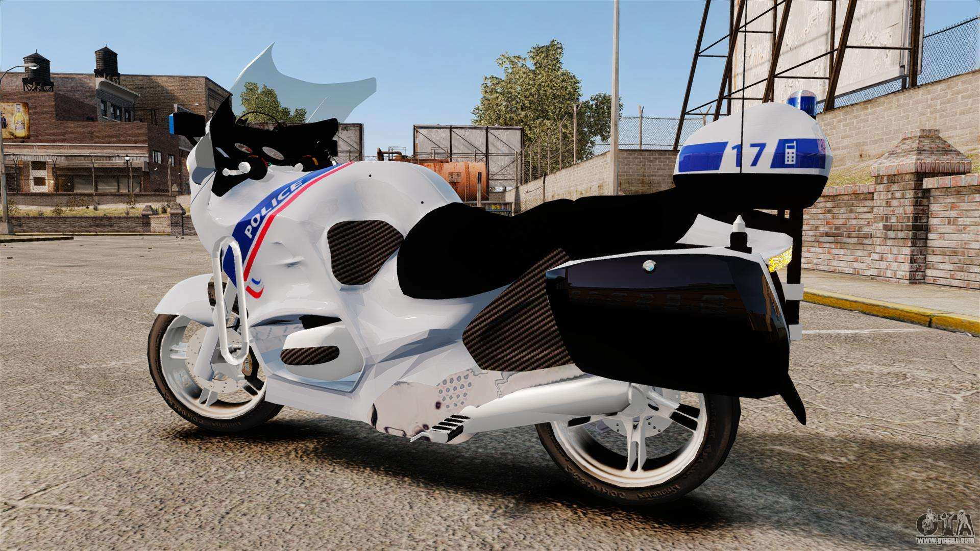 Bmw R1150rt Police Nationale Els For Gta 4