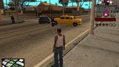 C-HUD Iron man for GTA San Andreas