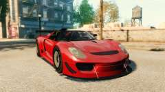 Porsche 918 Spider Body Kit Final for GTA 4