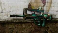 Famas G2 Commando Blaze for GTA San Andreas