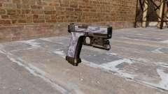 The Pistol Glock 20 Blue Tiger for GTA 4